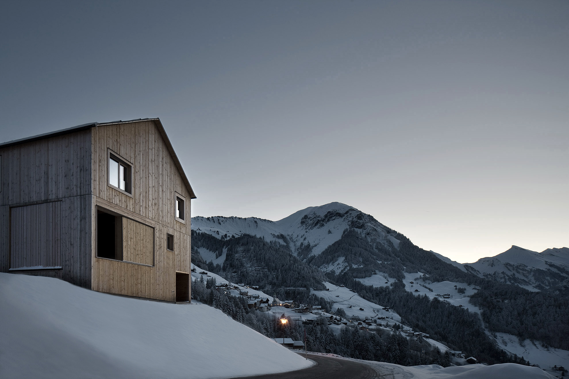 Haus Fontanella / Bernardo Bader Architects, © Albrecht Imanuel Schnabel
