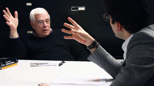 Peter Eisenman, the founder of IAUS. Image Courtesy of an-onymous.com