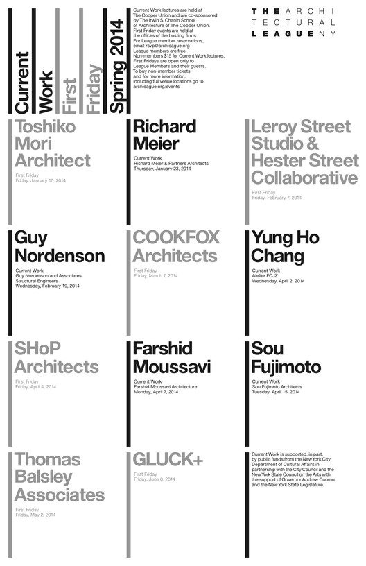 Current Architects the architectural league | tag | archdaily, page 2