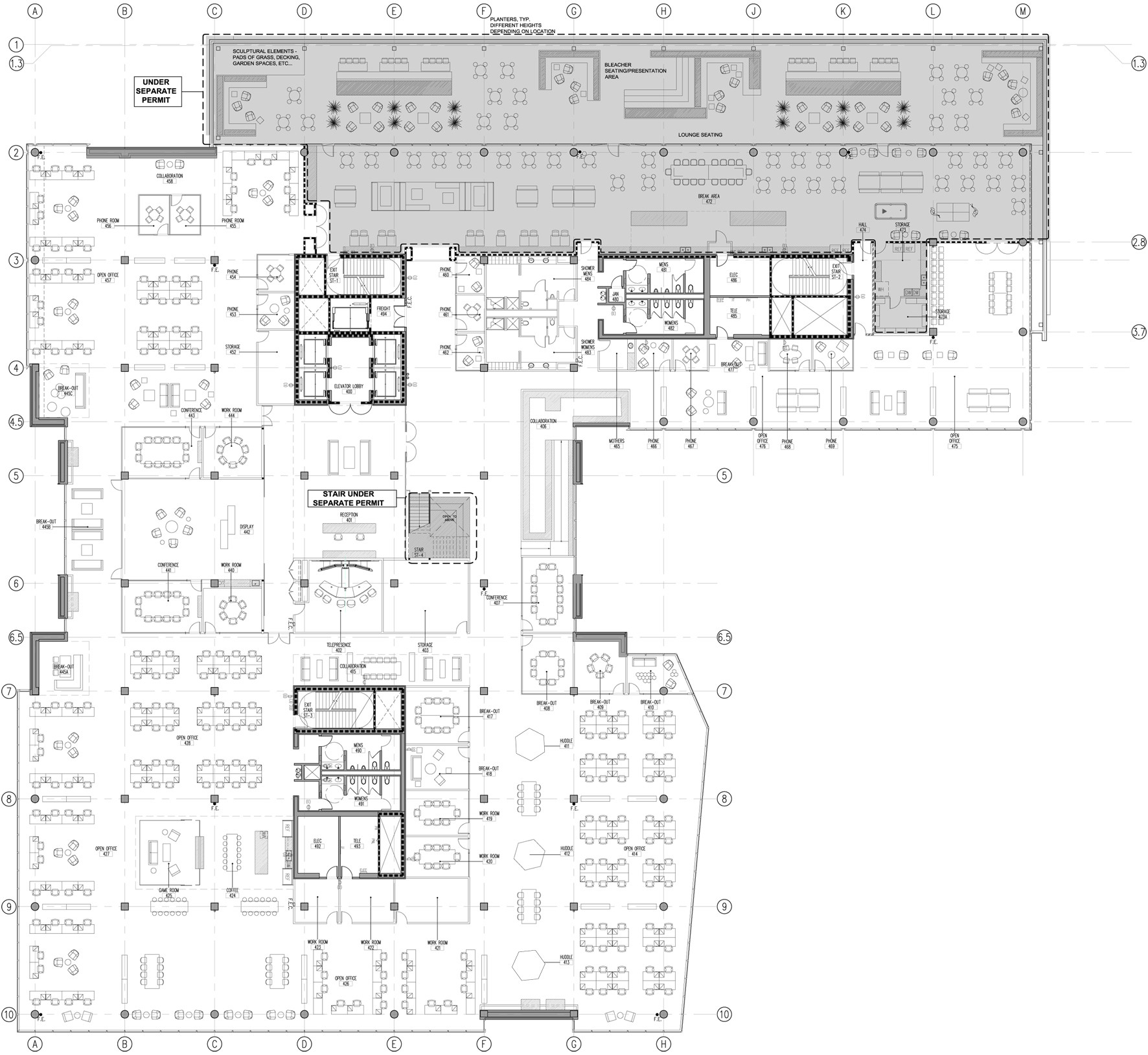 Cisco offices studio o a archdaily for Office floor plan