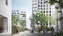 Herzog & de Meuron revelan Pedestrian-Centric para la Ciudad de Lyon Confluence