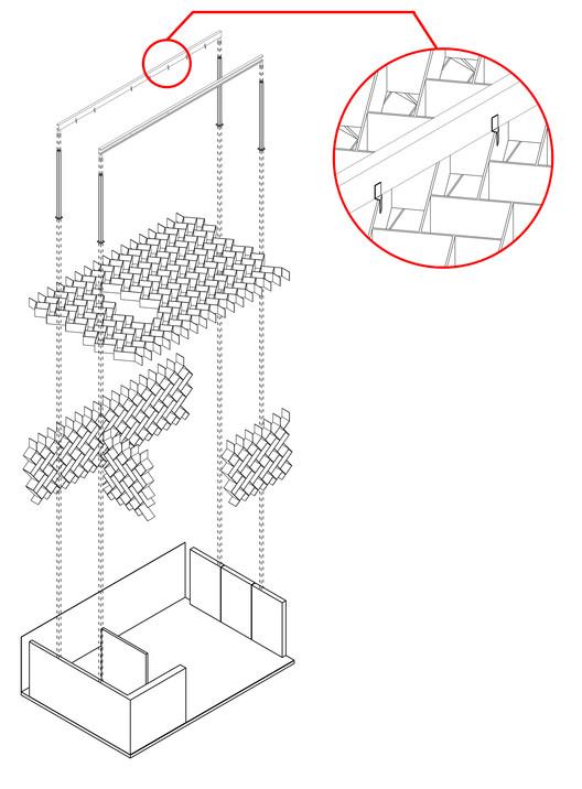 Criterio estructural. Image Cortesía de Santos Arquitectura