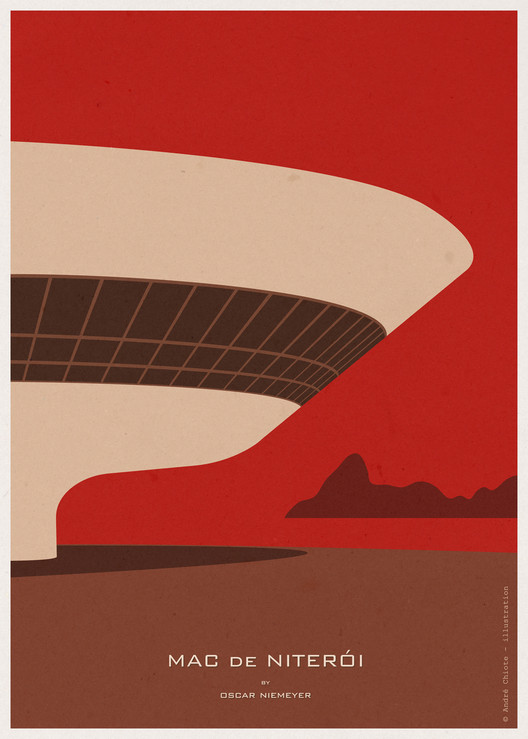 Giveaway: Andre Chiote Illustrations of Iconic Buildings, © André Chiote