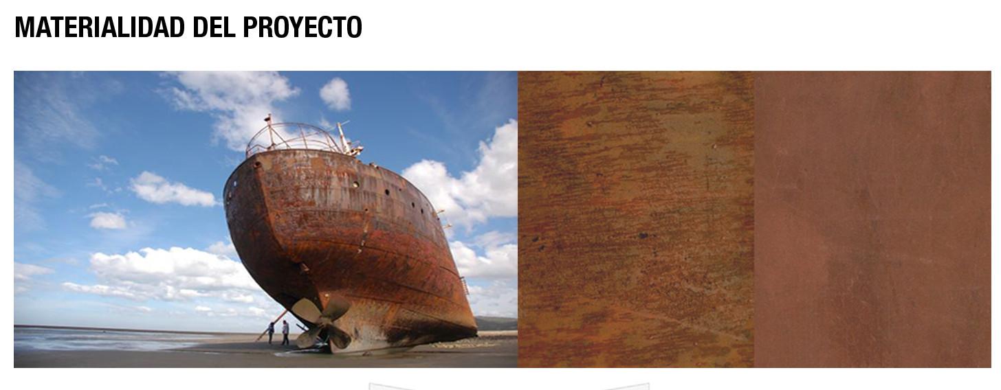 Materialidad. Image Courtesy of Gubbins Arquitectos
