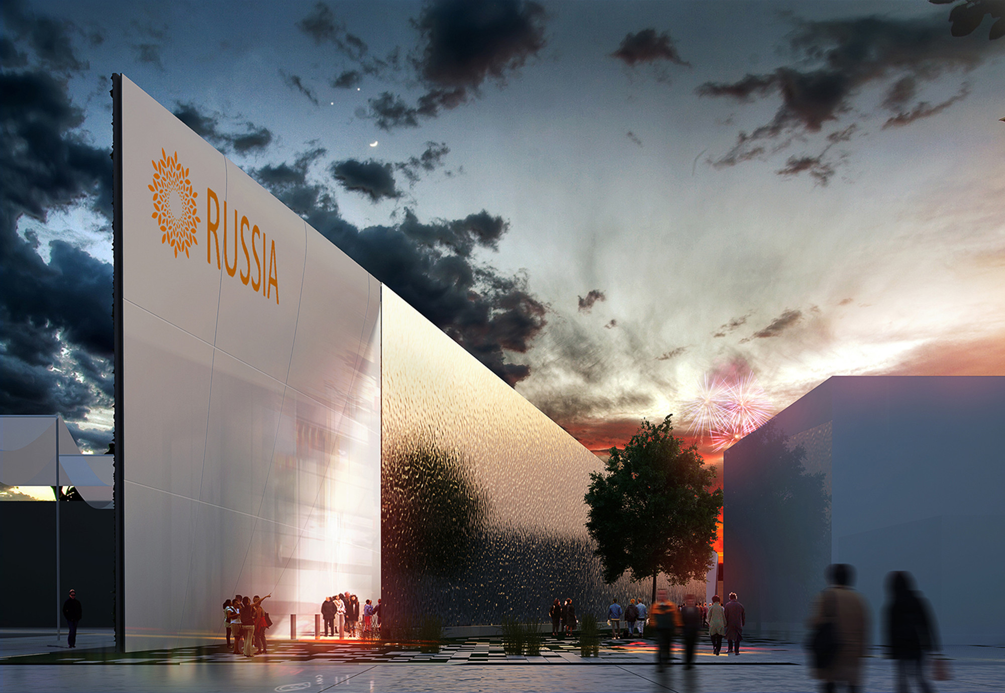Competition Entry: Russian Pavilion (Milan Expo 2015) / Architects of Invention, Courtesy of Architects of Invention