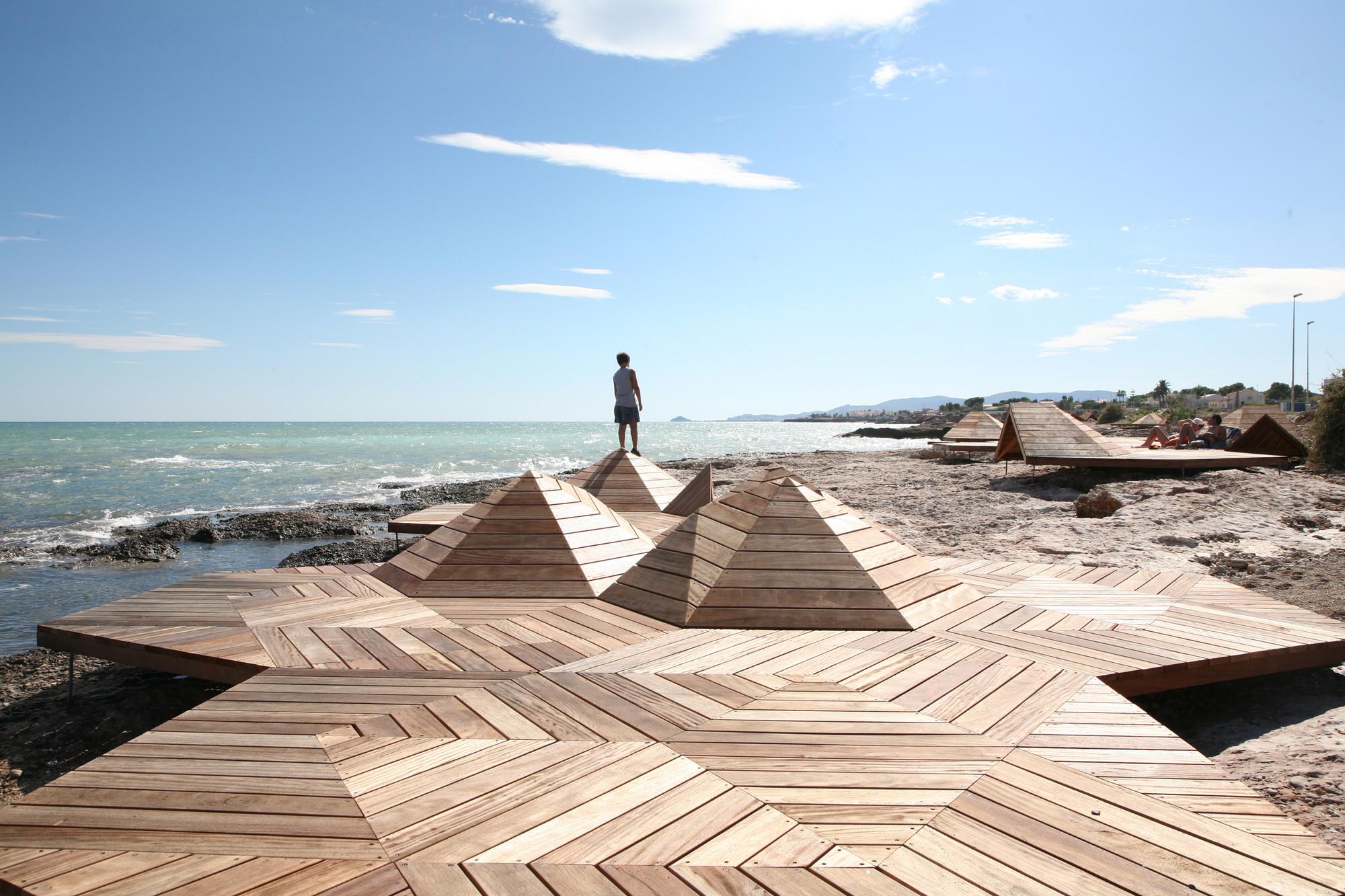 Arquitectura y Paisaje: Microcostas en Vinaròs por Vicente Guallart + María Díaz, Courtesy of Vicente Guallart