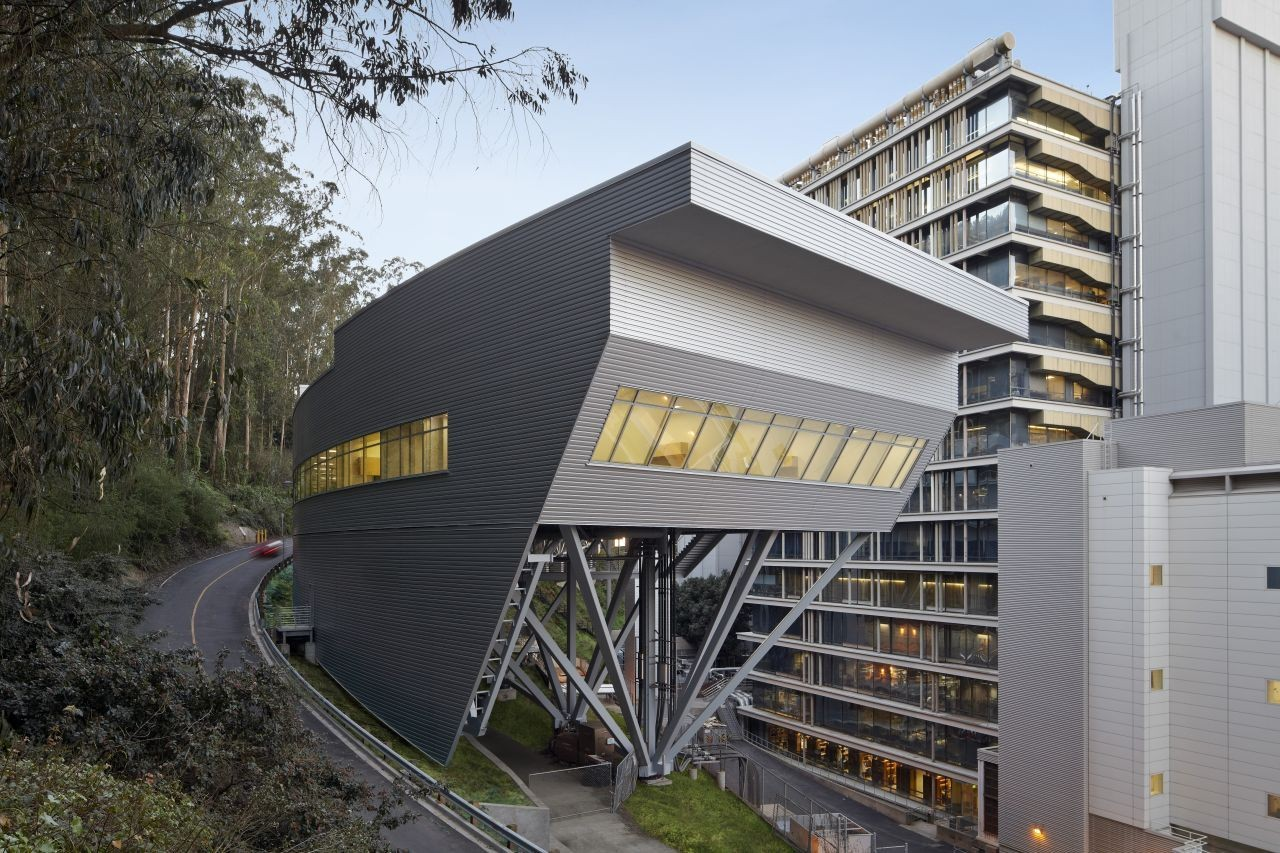 five fantastic fa ccedil ades archdaily ray and dagmar dolby regeneration medicine building image copy bruce damonte