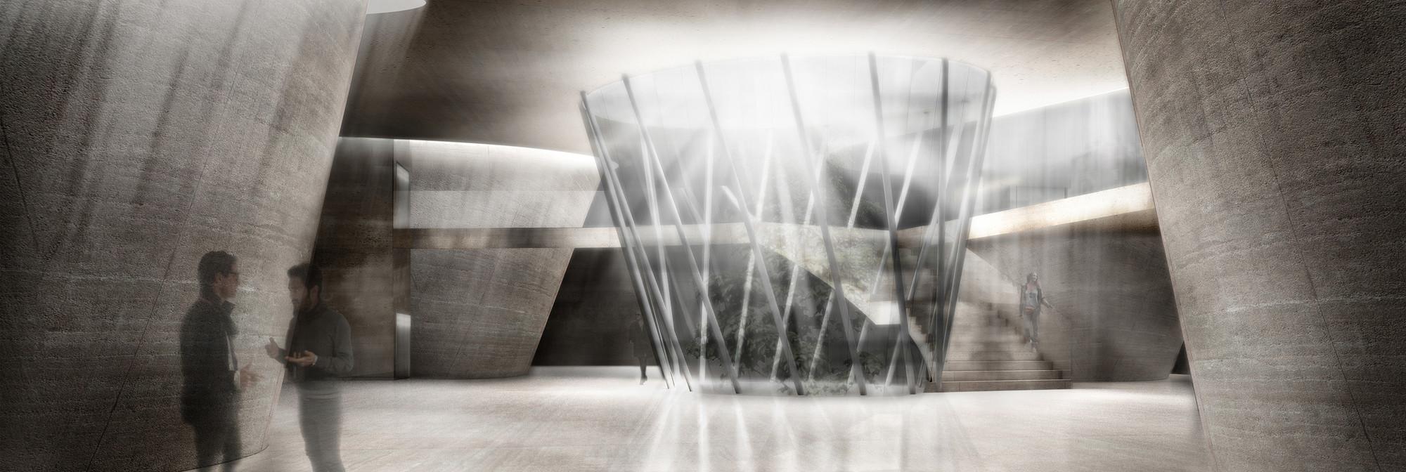Mención Honrosa Concurso de Ideas Museo Mario Toral