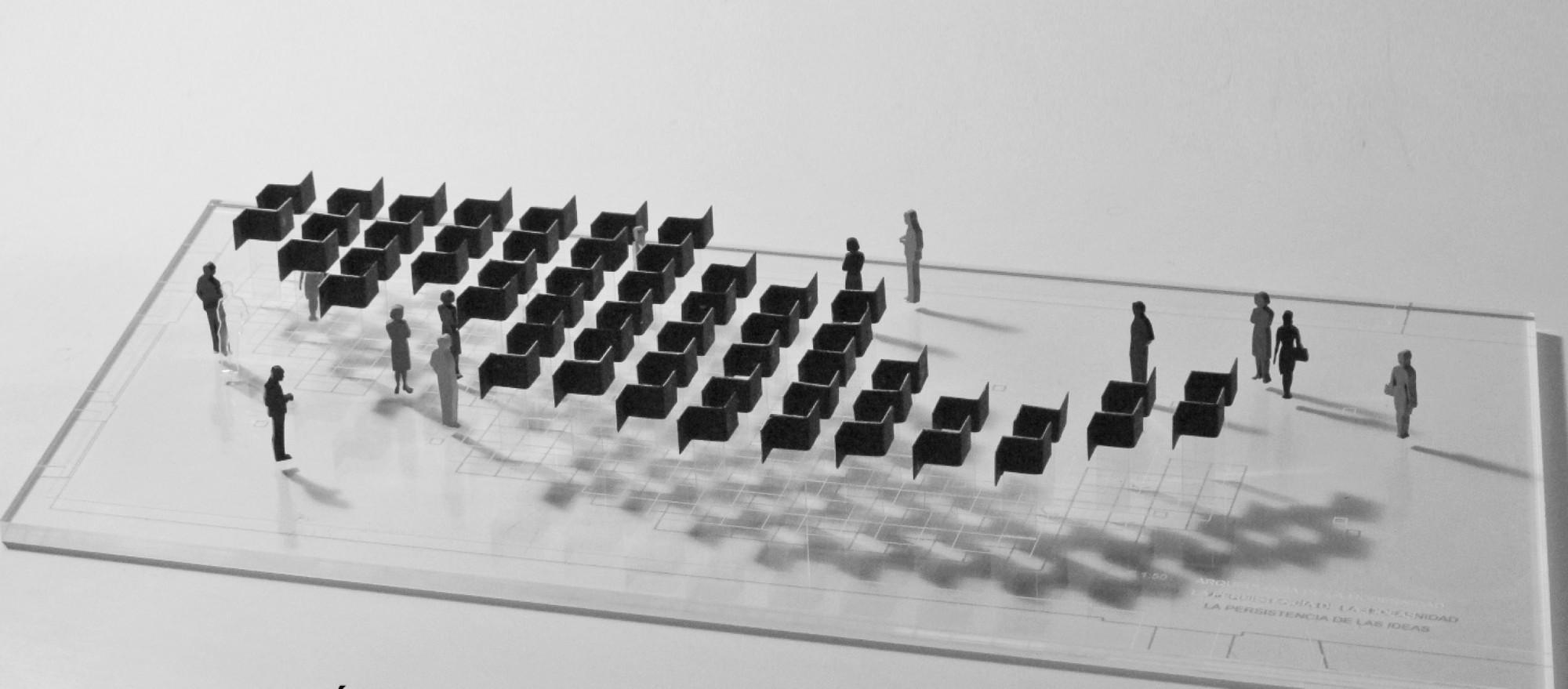 Segundo Lugar Pabellón de México en la 14ª Bienal de Arquitectura de Venecia / Arqueología de la modernidad, Courtesy of Lucía Villers, Juan José Kochen y Alberto Odériz