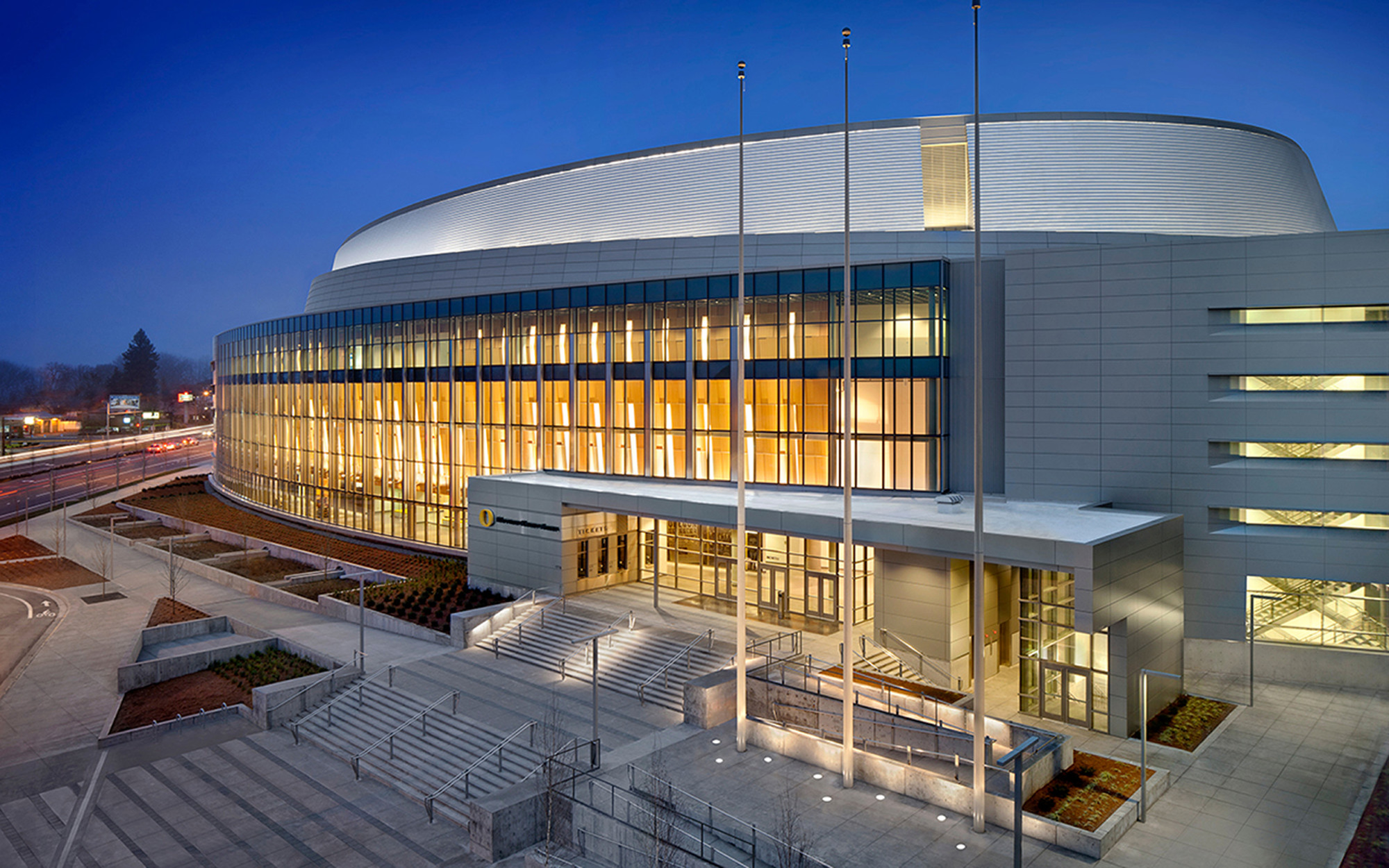 Matthew Knight Arena Tva Architects Archdaily