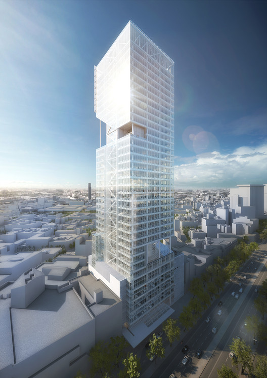 Cortesia de Richard Meier & Partners Architects LLP