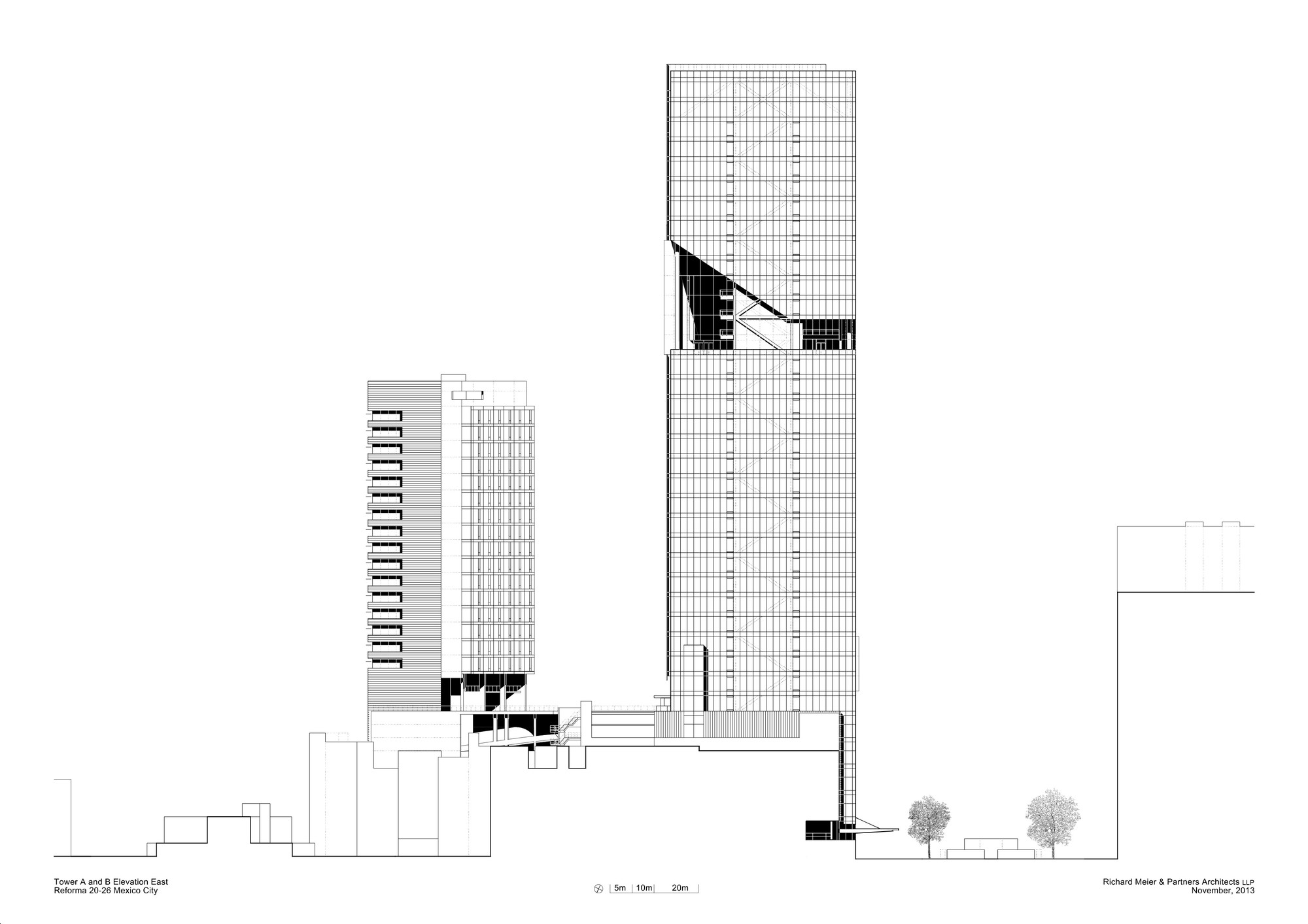 Cortesia de Richard Meier & Partners Architects LLP