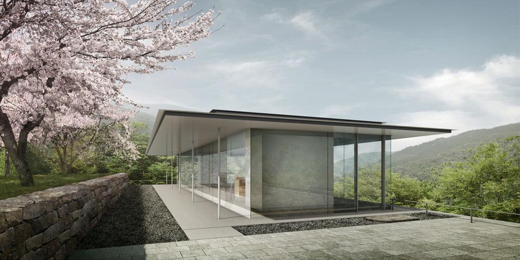 "Photographer Hiroshi Sugimoto Designs the ""Ideal Museum"" in Japan, © Odawara Art Foundation via WSJ"