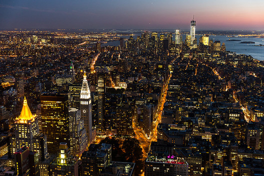 View of New York. Image © Flickr CC User Chris Chabot