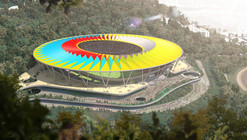 Rogers Stirk Harbour Unveils Design for Venezuela's National Football Stadium