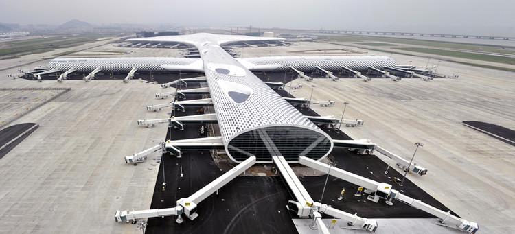 Aeropuerto Internacional de Shenzhen Bao'an / Studio Fuksas, © Studio Fuksas