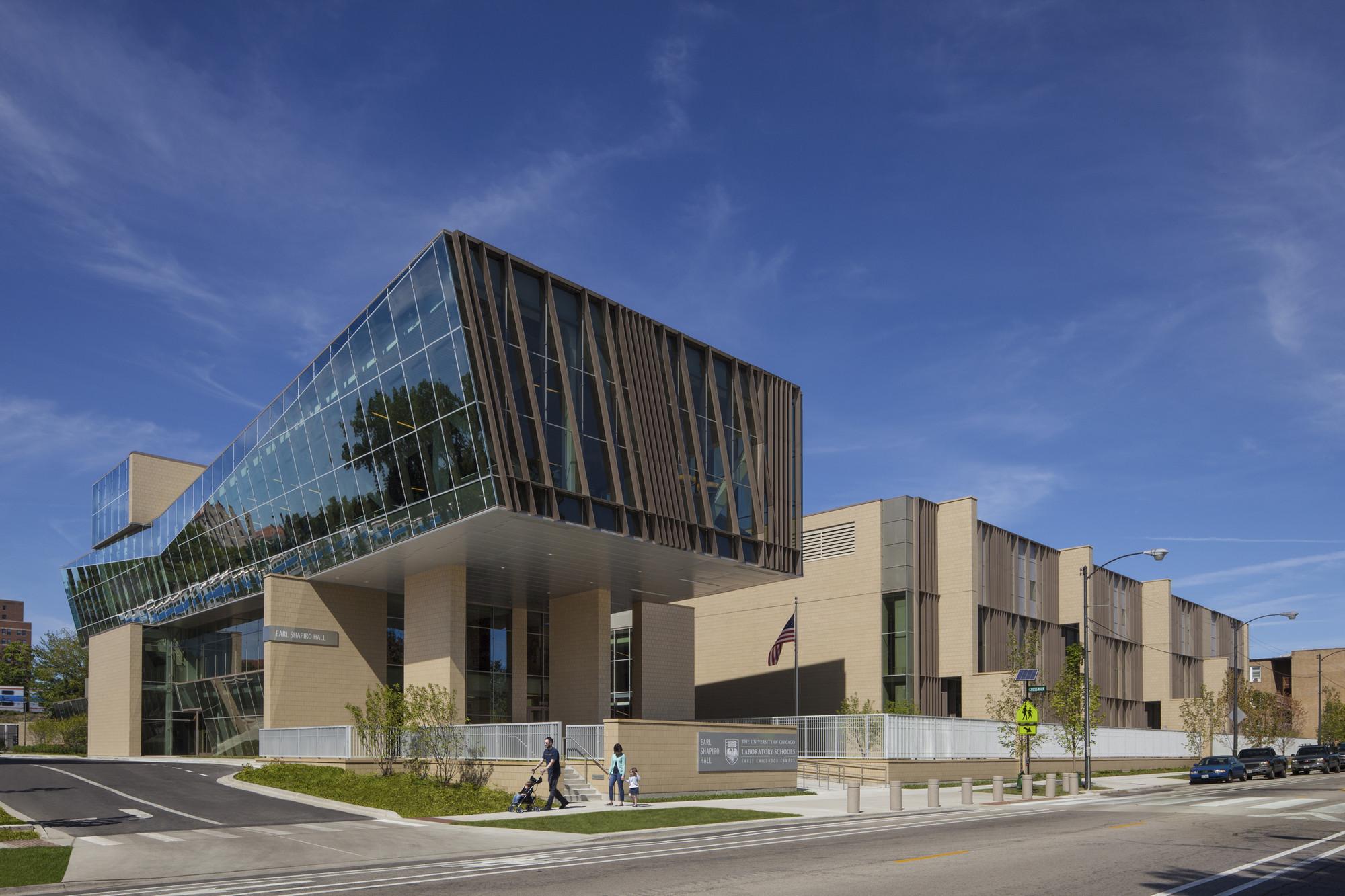 UC Lab School – Earl Shapiro Hall / Valerio Dewalt Train Associates, FGM Architects , © Karant + Associates