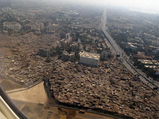 Aerial view over Mumbia. Image © Flickr CC User Cactus Bones