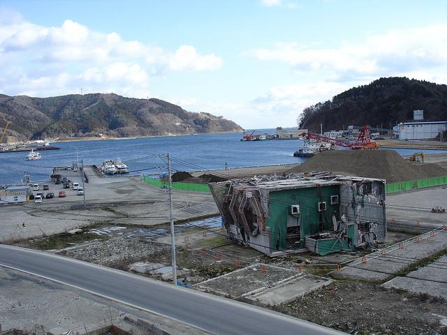 The Japanese Tsunami - 3 Years Later, Onagawa after the Tsunami. Image © Flickr CC User inunami
