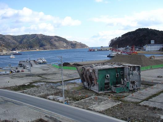 Onagawa after the Tsunami. Image © Flickr CC User inunami