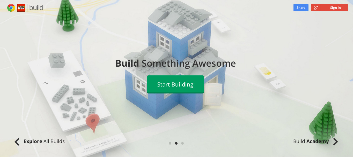 LEGO® y Chrome lanzan juego virtual (Prepárate para la Procrastinación)
