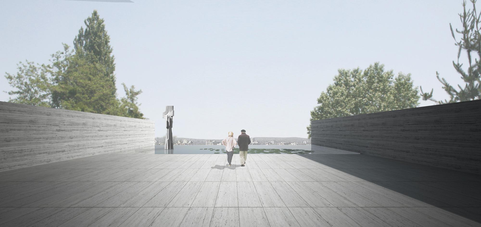 Concurso de Ideas Museo Mario Toral (Acta del Jurado), Cortesía Equipo Primer Lugar