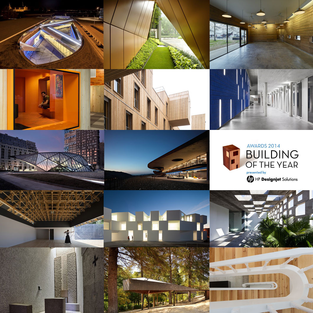 Winners of the 2014 Building of the Year Awards