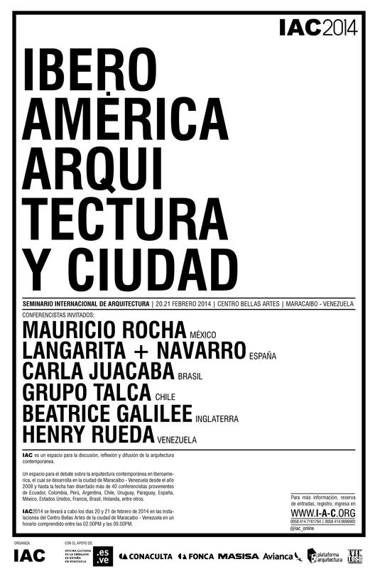 Seminario Internacional de Arquitectura en Maracaibo [Sorteamos 2 entradas]