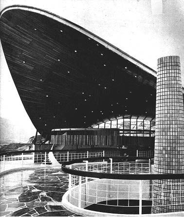 Clásicos de Arquitectura: Club Táchira / Fruto Vivas + Eduardo Torroja, © Usuario de Pinterest: Fundamemoria