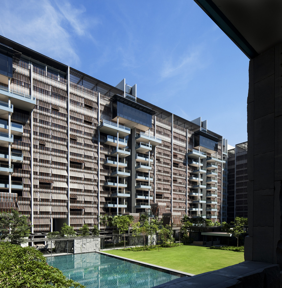 Goodwood residence woha archdaily for Apartment design singapore