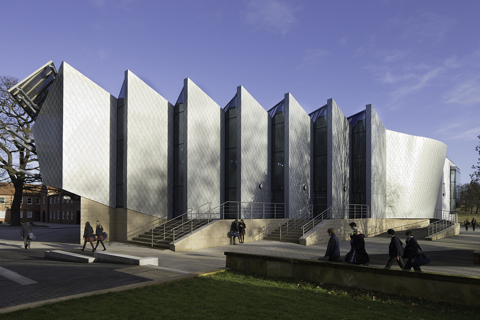Princess alexandra auditorium associated architects llp for Is architecture