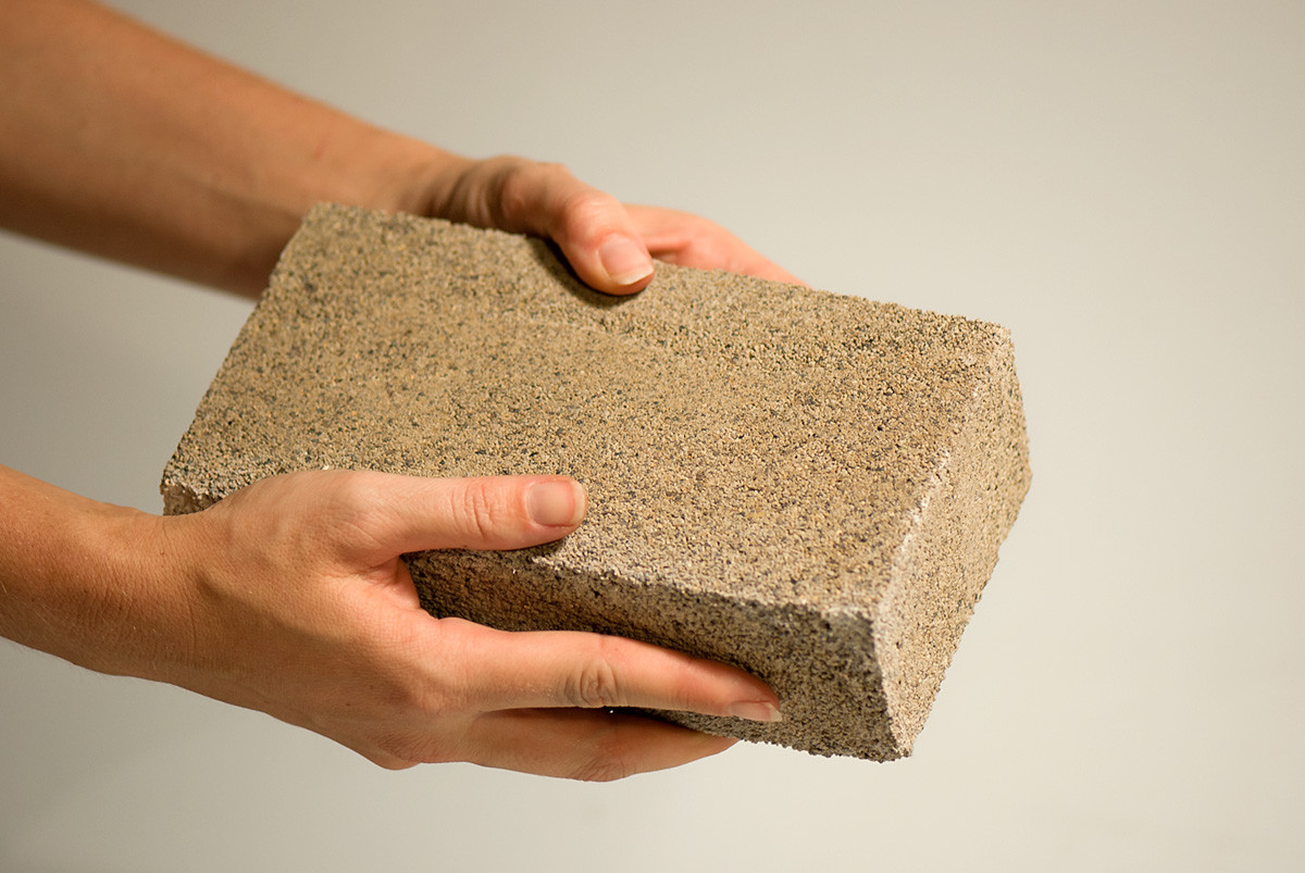 Bricks Grown From Bacteria, Courtesy of bioMason