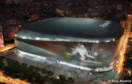 gmp Wins Bid to Redevelop Real Madrid's Bernabeu Stadium, © Real Madrid