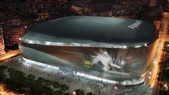 gmp Wins Bid to Redevelop Real Madrid's Bernabeu Stadium