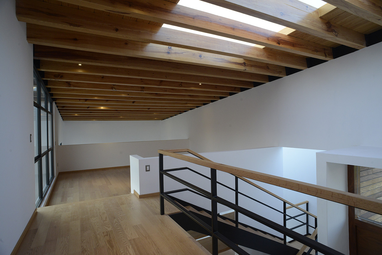 Galeria de casa em metepec dafdf 2 for Dibujos en techos de casas