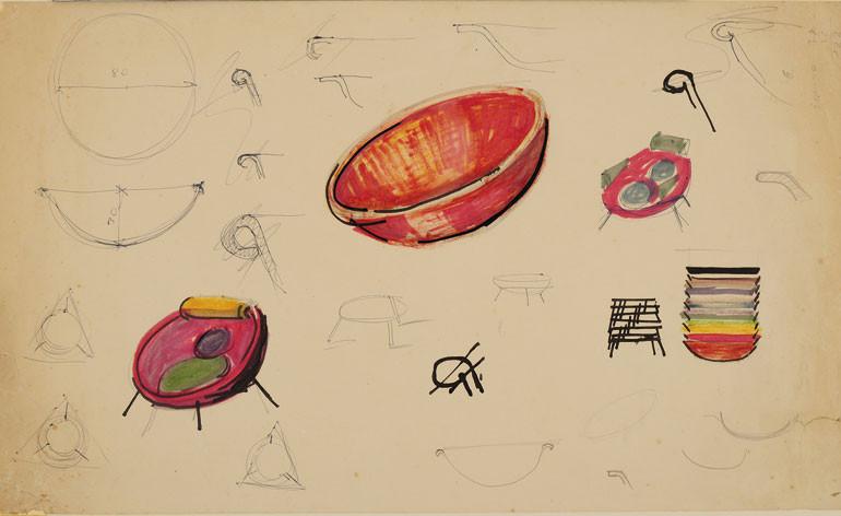 Diseños. Imagen Cortesía de Instituto Lina Bo e P. M. Bardi