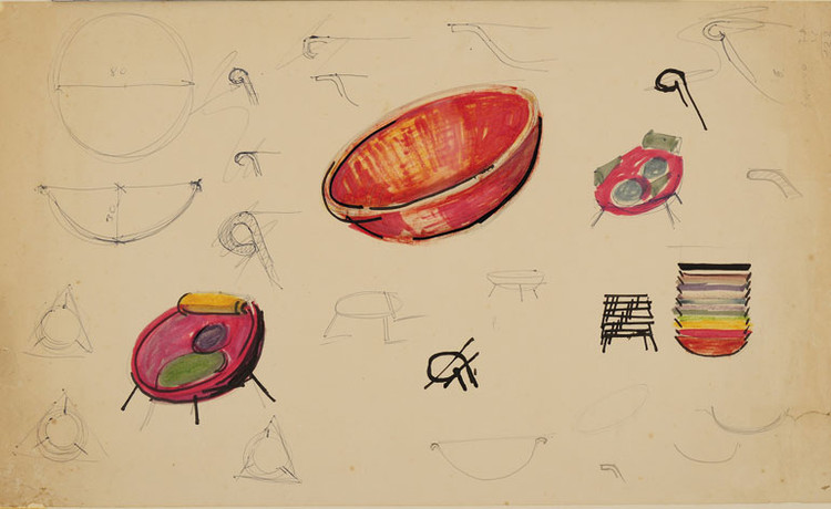 Desenhos. Image © Instituto Lina Bo e P. M. Bardi