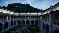 Claustro del silencio en el Monasterio Lorvão / João Mendes Ribeiro