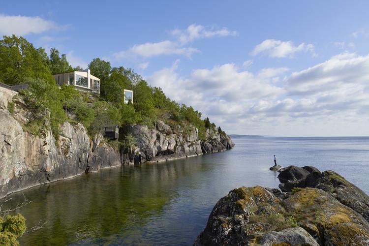 Stupet, refugio mediante una escalera / Petra Gipp Arkitektur, © Åke E:son Lindman