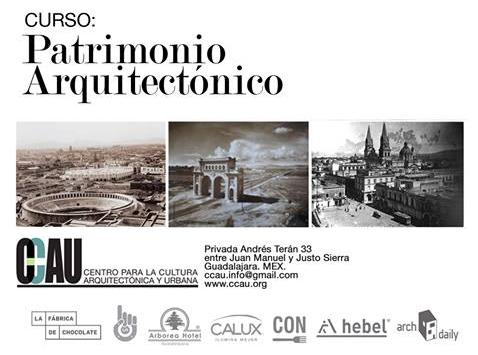 Curso: Patrimonio Arquitectónico / CCAU Guadalajara