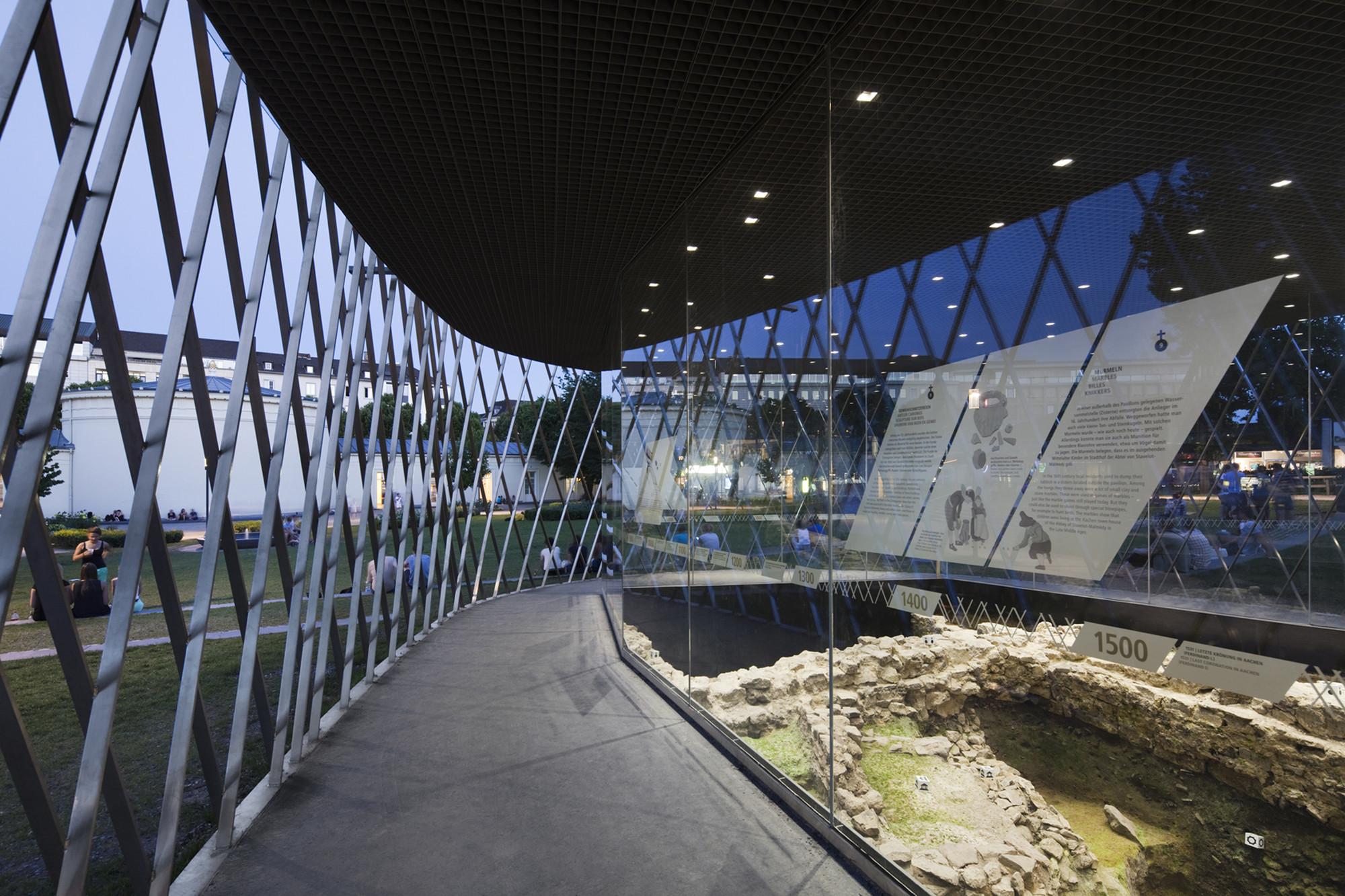 Archaeological Pavilion / kadawittfeldarchitektur, © Jens Kirchner