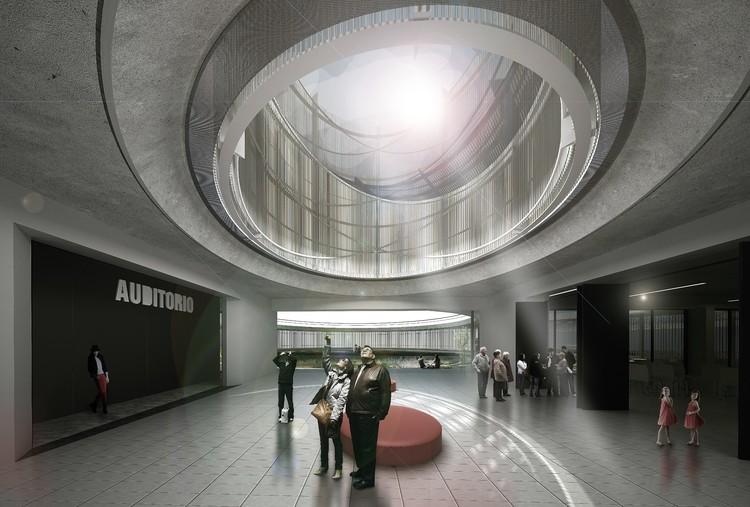 Hall. Image Cortesía de Colectivo 720