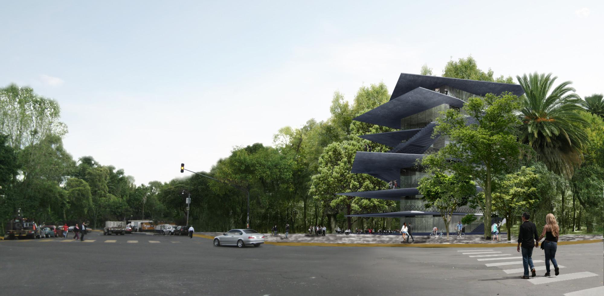 Nuevo edificio cultural para Ciudad de México de Zeller & Moye en colaboración con FR-EE, Courtesy of Zeller & Moye