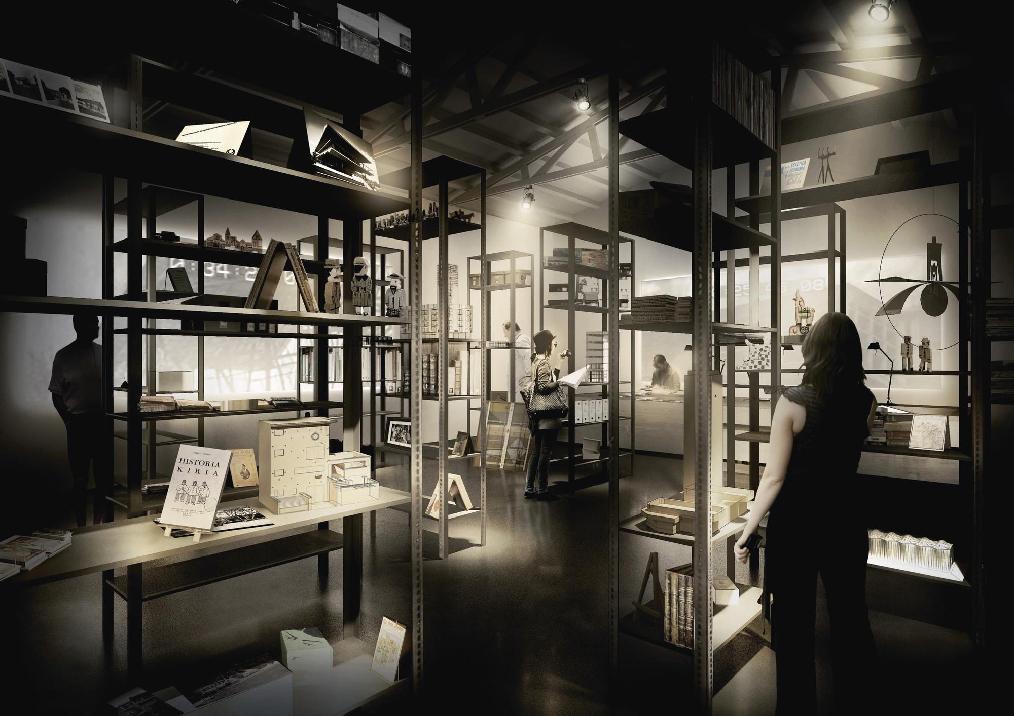 Pabellón de Uruguay en la 14ª Bienal de Arquitectura de Venecia / La Aldea Feliz, Imagen de Propuesta. Image