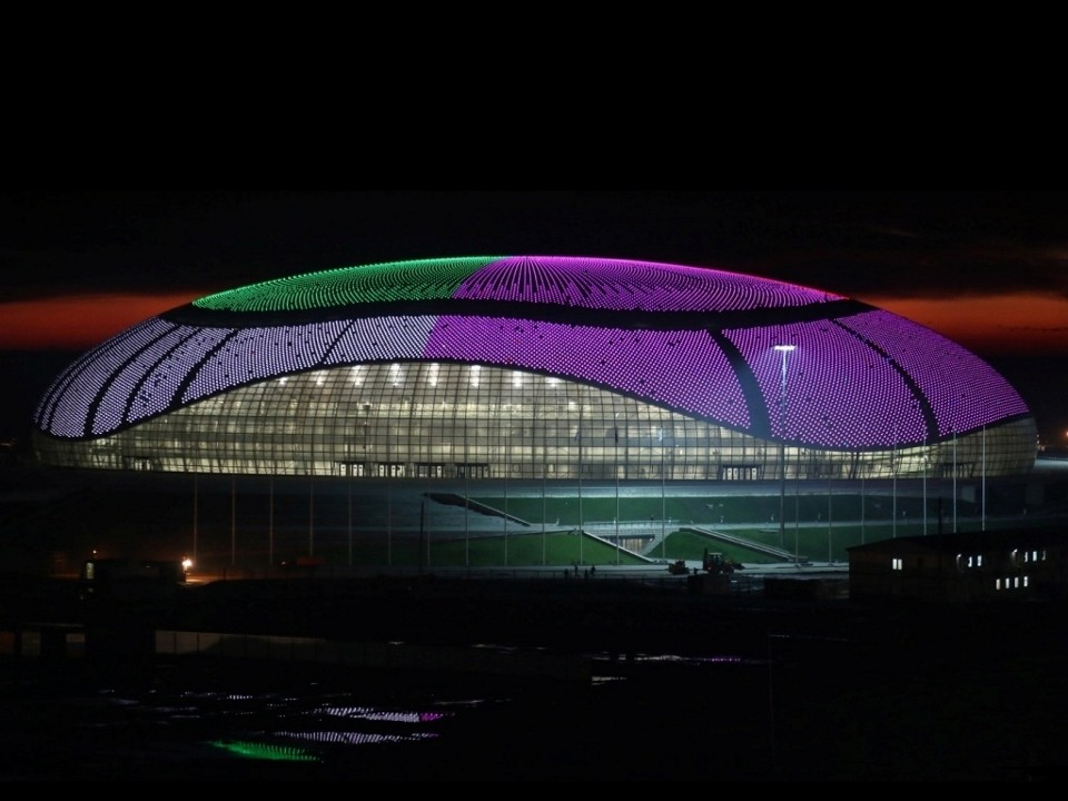 Bolshoy Ice Dome / SIC mostovik. Image © 2014 XXII Winter Olympic Games