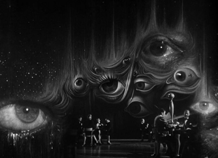 """Secuencia Onírica de Salvador Dalí en """"Spellbound"""" (1945). Image © horrordigital.com"""