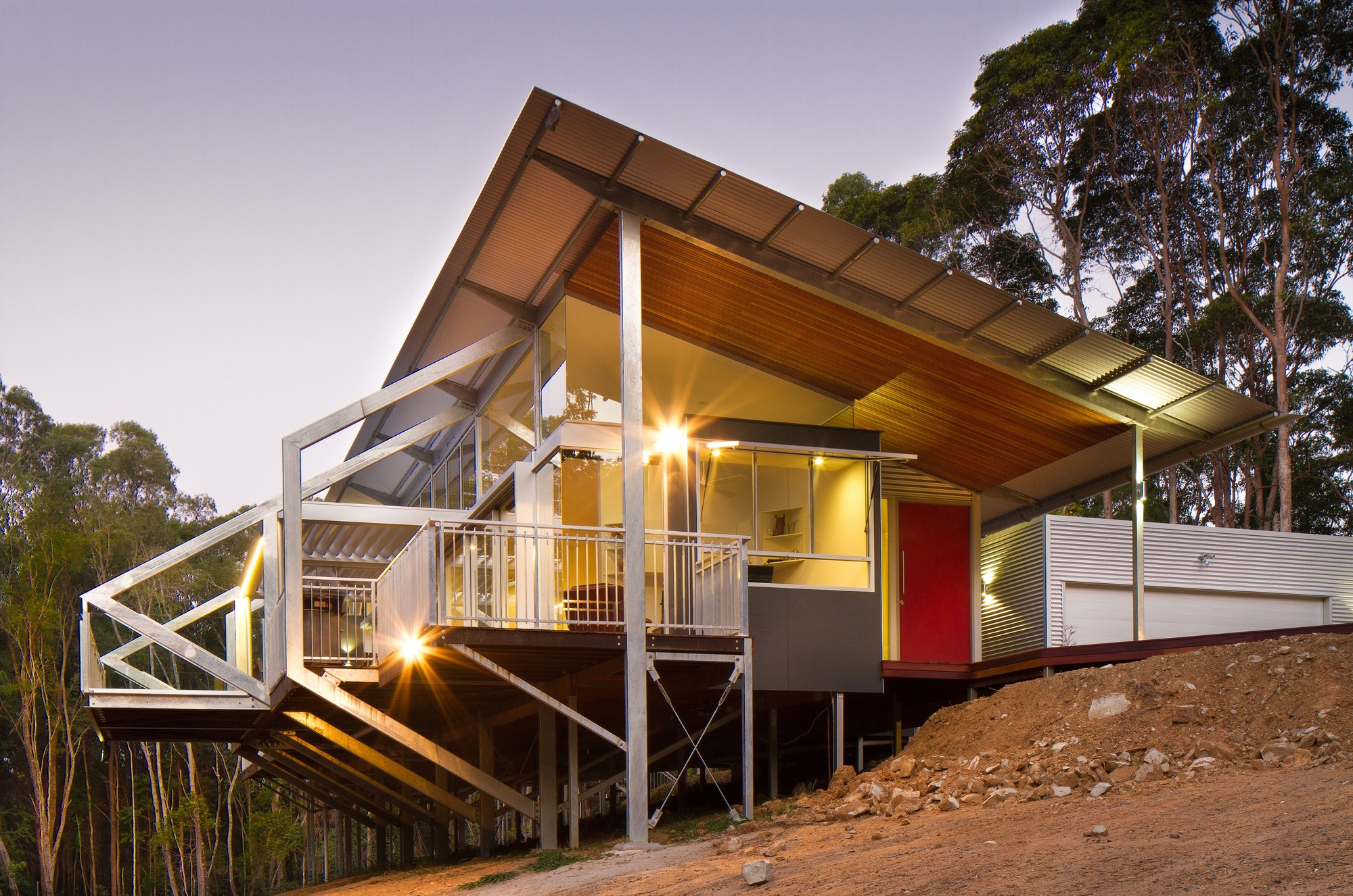 Tinbeerwah house robinson architects archdaily for Buy house plans australia