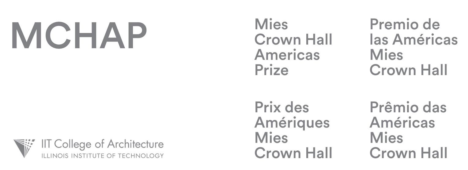 Escuela de Arquitectura del IIT de Chicago anuncia Premio Mies Crown Hall de las Américas, Courtesy of IIT