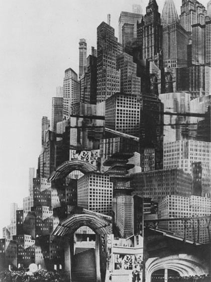 "The Best Future Cities Presented on Film, A still from ""Metropolis"", perhaps the archetypal futuristic city film. Image"