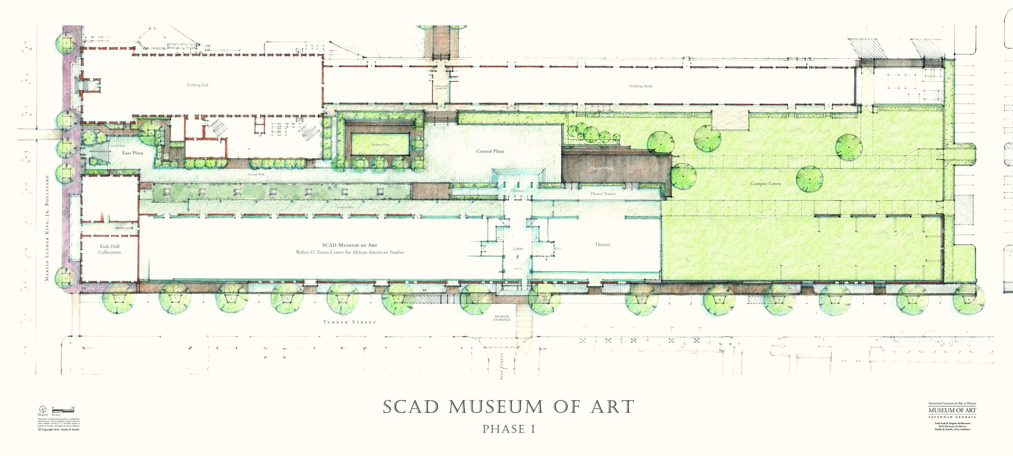Design A Floor Plan Gallery Of Scad Museum Of Art Sottile Amp Sottile And Lord